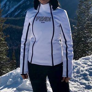 Fendi Logo Ski Jacket